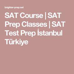 SAT Course | SAT Prep Classes | SAT Test Prep İstanbul Türkiye