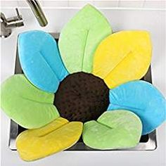 Baby Bath Flower Non-slip For Baby Toddler Bath Tub Non-slip Mat for Baby Blooming Sink For Baby Infant Lotus By Makaor Multicolor Blue) Baby Bath Seat, Baby Tub, Bath Seats, Baby Shower, Toddler Bath Tub, Toddler Toys, Baby Bath Flower, Pink And Green, Pink Blue