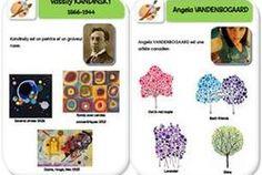 Fiches d'identité artistes: Kandinsky et Vandenbogaard