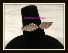 GOLD PLATE ANGEL WING...
