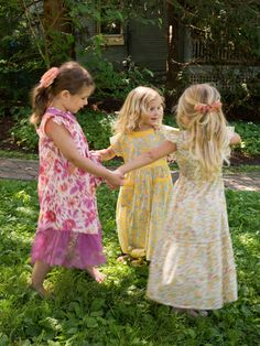 Bee Girls Dress   Baby :Beautiful Designs by April Cornell