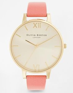 Olivia Burton | Olivia Burton Big Dial Coral Watch at ASOS