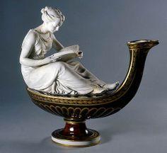 024-LAMPARA DECORATIVA-PORCELANA DE SÈVRES 1793-1800-