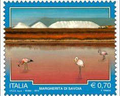Italy Stamp - Serie turistica