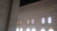 Alhambra in Spain - the entire place was this intricate carving - amazingly beautiful