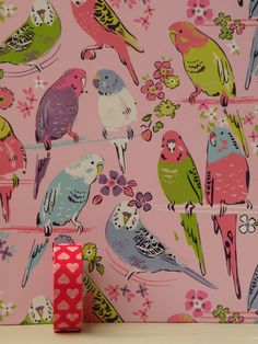 Budgie paper and Tape Animal Paintings, Animal Drawings, Budgies, Parrots, Claude Monet, Vincent Van Gogh, Crazy Bird, Bird Patterns, Watercolor Animals