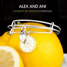Making lemonade put of lemons with this Alex and Ani bangle!