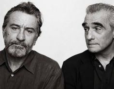 Robert DeNiro and Martin Scorsese.  Collaborations include Raging Bull, Taxi Driver, Casino, Cape Fear, Goodfellas and Mean Streets.