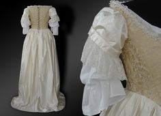 Dress from 17th century (c. 1670) | Historical Costumes | Vintage Tailoring | AnnaMorreau.com