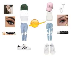 """Dabbing girls"" by jsassy05 ❤ liked on Polyvore featuring Topshop, Theory, Free People, The Hundreds, adidas, Embers Gemstone Jewellery, BERRICLE and Chapstick"