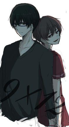 Nine y Twelve / Arata y Toji ~ Zankyou no Terror (Misterio, Thriller, Psicológico)