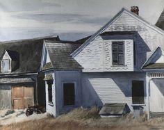 Edward Hopper | House on Pamet River, 1934