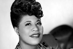 Ella Fitzgerald when she was young.