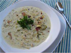 Crock Pot Low-Carb Clam Chowder!! Yummy!!!