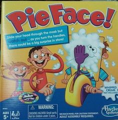 Pie Face Game Board Family Rocket Games Funny Exciting Toys for Adult Kids for sale online Pie Face Game, Family Board Games, Traditional Games, Christmas Toys, Usa News, Your Turn, Whipped Cream, Toy Story, Children