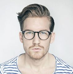 Andrew Foxx. Specs and Hair. - The Homme Depot