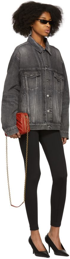 Balenciaga - Grey Denim Jacket