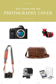 Gift guide for the Photography Lover / See and Savour
