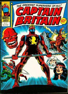 Captain Britain   Captain Britain Vol 1 27 - Marvel Comics Database