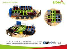 Indoor Trampoline Park Builder Design