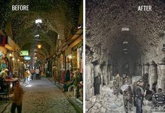 640e6abe4fc9e Then And Now, Syrian Children, Silk Road, Aleppo, Middle East, War
