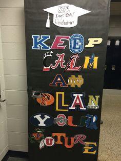 College decorating contest