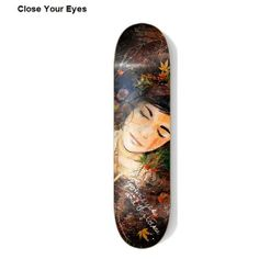 2cc9e330c93 Very beautiful piece of art that shows that skateboard decks can be a  canvas for art