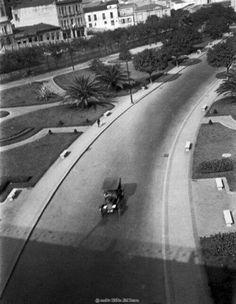 1924 - Trecho do Vale do Anhangabaú.