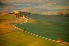 First Light in the Valley  Val d'Orcia, Toscana, Italy (IT)