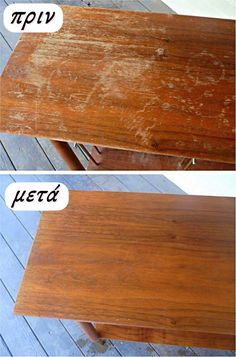 Fix scratches on wood furniture: cup vinegar and cup olive oil. Fix scratches on wood furniture: cup vinegar and cup olive oil. by orkant Furniture Repair, Furniture Makeover, Wood Furniture, Furniture Care, Furniture Cleaner, Refinished Furniture, Furniture Refinishing, Furniture Online, Furniture Stores