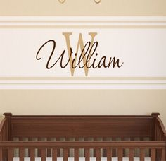 Boys Wall Decals  Personalized Name Wall Decal  by LucyLews, $18.00