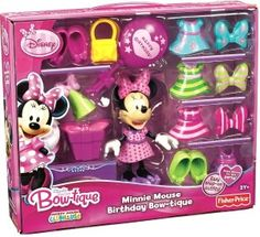 Fisher Price Minnie Mouse Birthday Party Bowtique