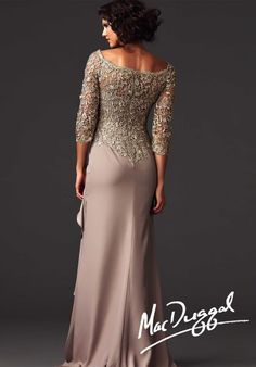 MacDuggal Couture Dress 85227D at Peaches Boutique