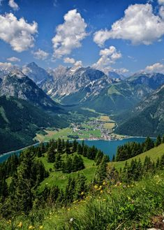 Pertisau village on Achensee, Tyrol, Austria by colinscott210
