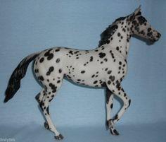 Breyer Horse LSQ OOAK CM Etched Zenyetta Leopard Appaloosa by Lindy Pinkham!