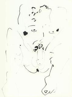 """Dessins érotiques"" par Jean Cocteau III"