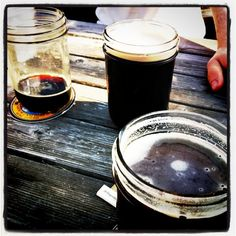 Jars o' beer. This is new.