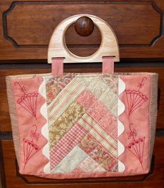 Looking for your next project? You're going to love Dancing in the Rain Bag by designer Val Laird Designs.