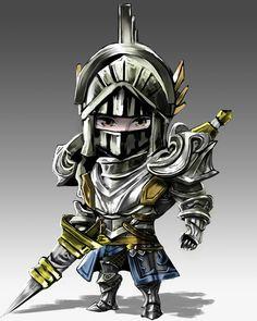 No photo description available. Mobile Legend Wallpaper, Hero Wallpaper, Chibi Knight, Logo Esport, Chibi Marvel, Online Battle, The Legend Of Heroes, Chibi Characters, Knight Armor