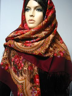 US $59.99 Fringes, Costume Accessories, Shawls, Costumes, Wool, Silk, Clothes, Ebay, Fashion