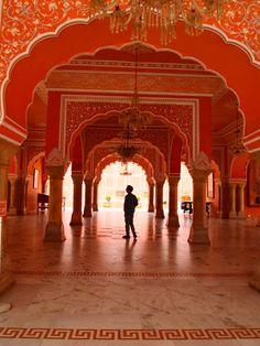 Palace, Jaipur, Rajasthan, (INDIA)