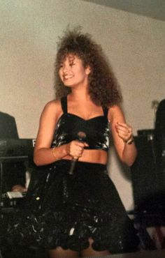 Rare Pics of Selena. Photo is from AB Quintanilla III 's Facebook.