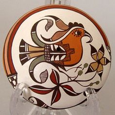 Acoma Pueblo Pottery in Maine - Presenting both traditional and contemporary pottery by Acoma artists. Native American Pottery, Native American Jewelry, Indian Plate, Southwest Pottery, Pueblo Pottery, Cd Art, Bubble Art, Wedding Vases, Pottery Designs