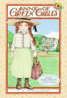 """Anne of Green Gables!  Read the complete series of these lively books as a girl.  Visited her """"home"""" in Prince George's Island and now look forward to reading them to my daughter Lulu!  """"That's Anne with an 'e'!"""""""