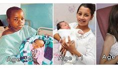 Yummy 10 Of The World's Youngest Parents: OMG 6 Is Shocking