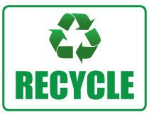 Wherever it needs like recycle bins, storage boxes make a printout of this Printable Recycle Sign and paste it. Always make and use products having recyclin
