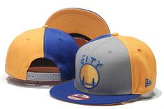 Golden State Warriors The City New Era Snap Back Hat Grey Yellow d0bcfc3bbb99