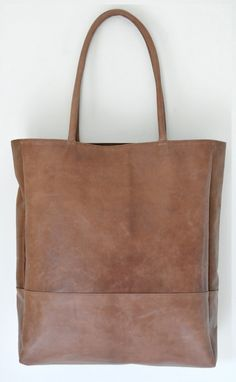 Hand made tote bag - you pick the color and the lining - beautiful