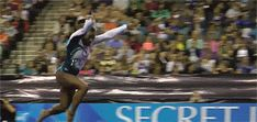 "Simone Biles Fascinating Double Double ""Side Angle"" (GIF) « WOGymnastika"