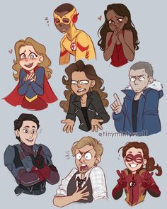 The Flash, Supergirl, Legends of tomorrow The Flash Cartoon, The Flash Art, Flash Characters, Cartoon Characters, Flash Drawing, Flash Funny, Flash Wallpaper, Cw Dc, Superhero Memes